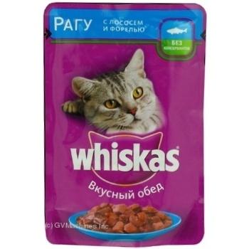 Корм для котов Whiskas с лососем в соусе 100г - купить, цены на Фуршет - фото 6