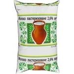 Молоко Вита пастеризованное 2.6% 900г пленка Украина