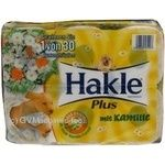 Toilet paper Hakle Camomile with chamomile 6pcs 645g Germany