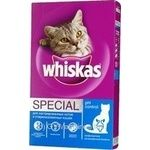 Food Whiskas dry for the emasculated cats and sterilized lady-cats 400g Russia