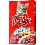 Корм для котів сухий Darling М'ясо з овочами 400г