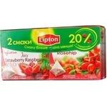Чай Липтон фрукты фруктовые 80г