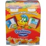 Yogurt Rastishka with apricot drinking 4pcs 360g Russia