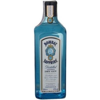 Gin Bombay sapphire 47% 500ml glass bottle England