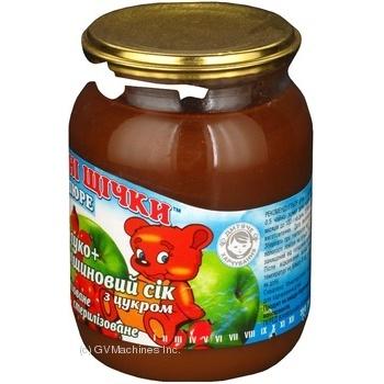 Пюре Румяные щечки яблоко яблоко для детей с 4 месяцев 250г Украина