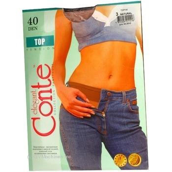 Колготы Conte Top 40 Den р.3 natural шт - купить, цены на Novus - фото 3