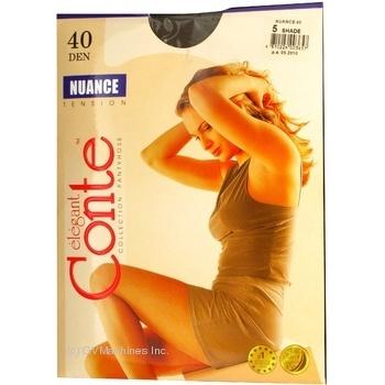 Колготки женские Conte Nuance 40 den 5 shade