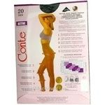 Колготы женские Conte Active 20ден р.3 Nero - купить, цены на СитиМаркет - фото 2