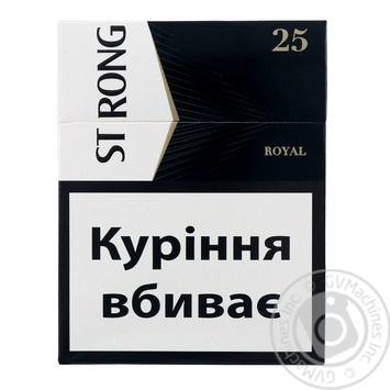 Сигарили Strong Royal 25шт - купити, ціни на Ашан - фото 1