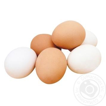 Яйцо столовое 1 сорт - купить, цены на Ашан - фото 1