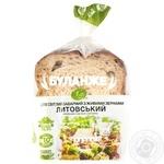 Хліб Буланже Хліб Житомира Литовський половинка нарізаний 300г