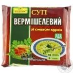 Суп вермишелевый Чудова со вкусом курицы 160г