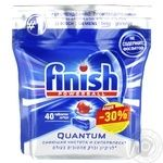 Таблетки для посудомоечных машин Finish Quantum Max бесфосфатные 40шт