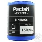 Пакеты для мусора Paclan Expert Multi Top 35л 150шт