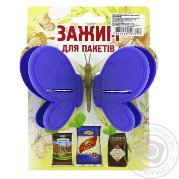 Зажим для пакетов Шинковенко бабочка - купить, цены на МегаМаркет - фото 3