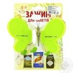 Зажим для пакетов Шинковенко бабочка - купить, цены на МегаМаркет - фото 4