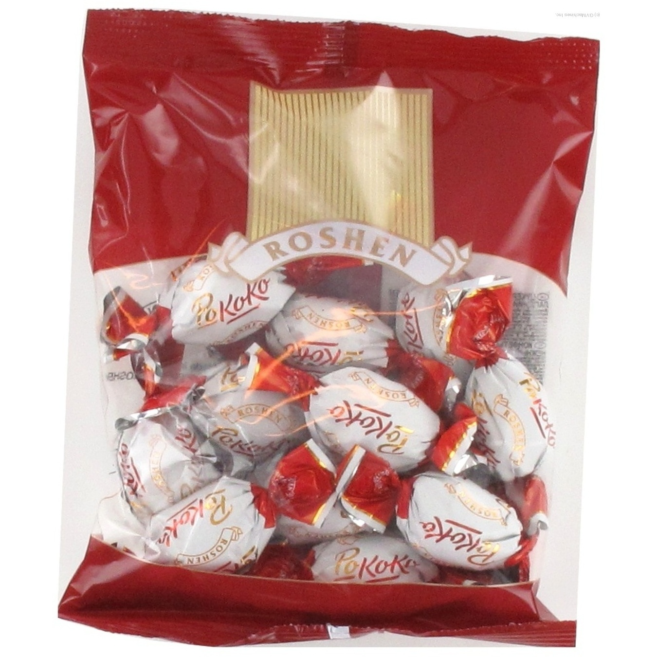 Candy Roshen Rokko With Cream With Filling 160g Packaged