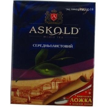 Чай чорний середньолистовий Аскольд 200г