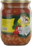 kidney bean Pan salat sterilized 500ml glass jar Ukraine