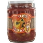 Vegetables Toma canned 720ml glass jar Ukraine