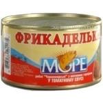 Meatballs More fish in tomato sauce 230g Ukraine