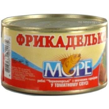 Фрикадельки рибні у томатному соусі Море 230г