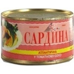 Fish sardines Kreon in tomato sauce 240g can