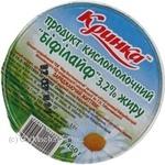 Біопродукт Добряна Біфілайф кисломолочний 2.5% 230г Україна