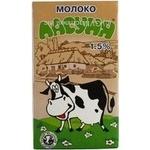 Молоко 1,5% Ласуня т/п 1л