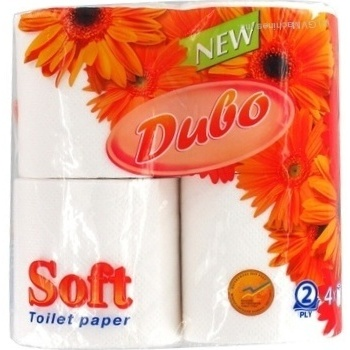 Туалетная бумага Чудо белая двухслойная 4шт - купить, цены на МегаМаркет - фото 2