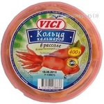 Squid rings Vici pickled 400g Lithuania
