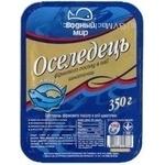 Fish herring Vodnyi mir light-salted 350g Ukraine