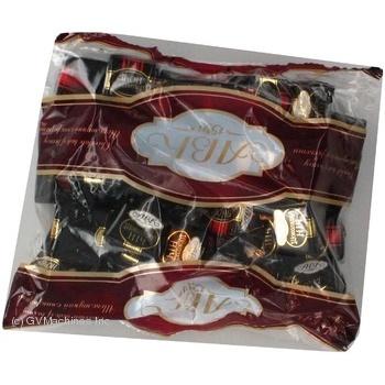 Конфета Авк Шоколадная ночь с начинкой 500г в упаковке Украина
