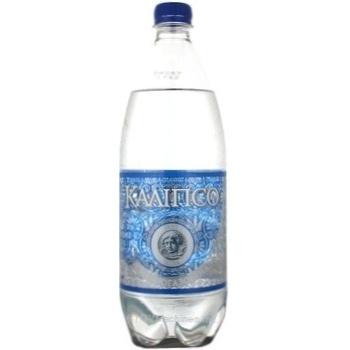 Вода Калипсо сильногазированная пластиковая бутылка 1000мл Украина