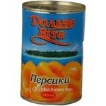 Fruit peach Dolce vita in syrup 425g can Ukraine