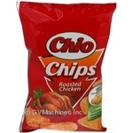 Chips Chio with taste of chicken fried 75g Poland