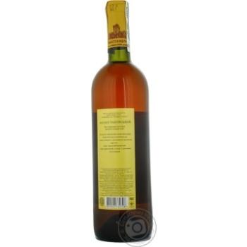 Вино біле Масандра Мускат Таврійський ординарне кріплене десертне солодке 16% скляна пляшка 750мл Україна - купити, ціни на Ашан - фото 6
