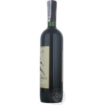 Вино Bugeuli Aleksandrouli красное сухое 12.5% 0,75л - купить, цены на МегаМаркет - фото 5