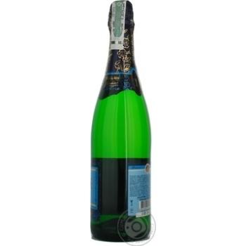 Шампанское КЗШВ Украинское белое сладкое 10,5-12,5% 0,75л - купить, цены на Novus - фото 4