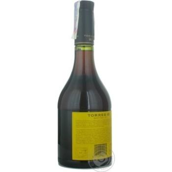 Torres Gran Reserva Brandy 10 years 0,7l - buy, prices for Novus - image 3