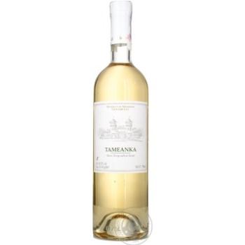 Вино Лион гри Тамянка белое полусладкое 12% 750мл стеклянная бутылка Молдавия