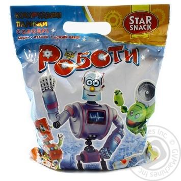 Палички кукурудзяні Роботи Starsnack 100г
