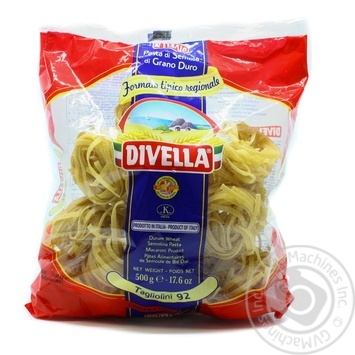 Pasta tagliolini Divella Private import 500g - buy, prices for Novus - image 7