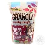 Гранола з фруктами Bona vita 500г м/у
