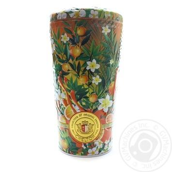 Чай зеленый Chelton Ваза солнечный фруктовый листовой жестяная банка 100г - купить, цены на Novus - фото 1