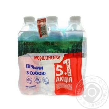 Вода минеральная Моршинская негазированная 0.5л - купить, цены на Novus - фото 1