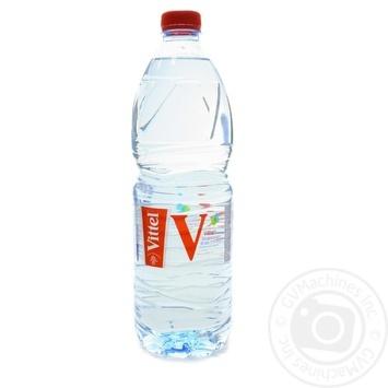Вода Vittel минеральная негазированная 1л - купить, цены на Novus - фото 1