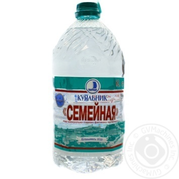 Water Kuialnyk non-carbonated 6000ml plastic bottle - buy, prices for Novus - image 1