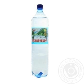 Вода Лужанська №7 газована 1,5л - купити, ціни на Novus - фото 1
