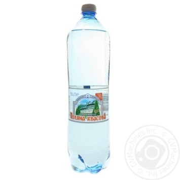 Sparkling mineral water Polyana Kvasova 1,5l - buy, prices for Furshet - image 1